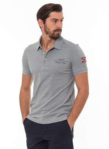 Napapijri Polo Yaka Tişört Gri